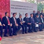 RT @Silvano_A: CCXLIX aniversario del natalicio de Don José María Morelos y Pavón en Morelia. http://t.co/pjpw5XzRTf