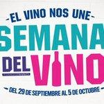 Ya arrancó la #SemanaDelVino Argentino. ¡Sumate y celebrá que el vino nos une! http://t.co/KPpHcfiyG1