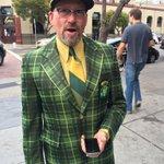 RT @Athletics: Well now were feeling a little underdressed. #OAKtober RT @MattKellerABC7: Robert ready for #WildCard. http://t.co/ObAXYMHGtW