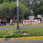 Veteranos mantienen protesta contra FOMILENIO sin afectar el #TraficoSV frente a CIFCO. http://t.co/l2kVjfuhjL Vía @ojoatento: