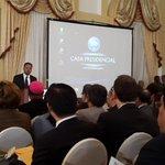 Vicepresidente de MCC Kamran Khan inicia su discurso http://t.co/GS5xMjrhLu