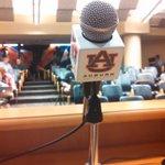 RT @AUGoldMine: Gus Malzahns weekly press conference at 11:15 Auburn time. Random tweets to follow... http://t.co/9Bq3PzsLGe