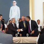 Firmado el FOMILENIO II entre los gobiernos de El Salvador y Estados Unidos. Foto @USEmbassySV @radio102nueve http://t.co/CQzrj4fQmx