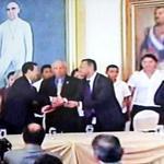 Presidente @sigfridoreyes participa en el evento de firma de Fomilenio II. Importante inversión para el desarrollo. http://t.co/cAHKo3R9Ax