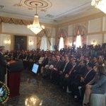 Presidente @sanchezceren: deseo transmitir la alegría y el agradecimiento de todo un país #FomilenioII http://t.co/xkUVFTvDBK