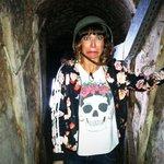 Grabando para @YOy3MAS el mundo secreto debajo de Montevideo!!! Que mieditoooo!!! Ahhhhh http://t.co/KfqdXk2IL4