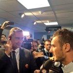 RT @OfficialASRoma: Francesco Totti a #RomaTV a fine partita! #CityRoma http://t.co/BxzBdpfucT