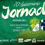 RT @clubleonfc: @clubleonfc vs. @Rayados Nos vemos esta noche en el Estadio. ¡Vamos Fiera! http://t.co/jpZLXnD7wo