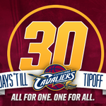 RT @cavs: Reminder: ONLY ONE MONTH until Opening Night! #AllForOne http://t.co/24ZAwwni4S