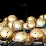 RT @NotreDame: .@NDFootball ranks #1 in @USATODAYs best helmets in college football. Cant say we disagree! http://t.co/SXCL1MELRj http://t.co/vjb4rU3XGj
