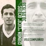 "Germán ""Cuca"" Aceros, celebra hoy su onomástico... Felicidades!! http://t.co/vnmCtSJpQm"
