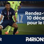 RT @parionsweb: Merci à tous davoir suivi ce #PSGBAR avec nous ! Rendez-vous le 10 Décembre pour le match retour ! #MARQUINHOS #PSG http://t.co/AIPWnmG0QR