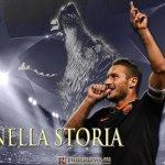 Nessuno come lui... immenso Capitano!!! #Totti #ManCityRoma http://t.co/1WXQ7wcsz5