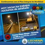 #Anzoategui @GustavoMarcano:ASFALTANDO Av. CamejoOctavio #Lecheria #PLC. http://t.co/oB4Gfr75JM @ActivismoPJ