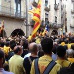 Pels drets nacionals de Catalunya, volem votar el #9N. Ara mateix a #Girona. http://t.co/244iUhBWK2