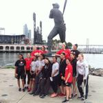 3mi run conditioning, stopping to pay some respect to Big Mac #SFGiants #KnightsRunSF #ArtU http://t.co/6GHhSp5MSu