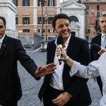 Renzi: «D'Alema? Ogni volta che lui parla io guadagno nuovi consensi» http://t.co/bijrzAL34G http://t.co/C3b7YNHO1k