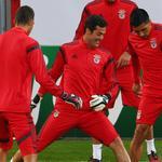 RT @Benficastuff: Júlio César (@ojuliocesar_12) e Enzo Pérez. http://t.co/SK84lUGSCO