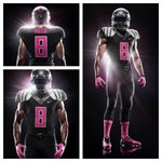 RT @CollegeGameDay: Oregon will wear these uniforms Thursday vs Arizona. They are designed to help raise awareness for breast cancer. http://t.co/yr17xx5jV9