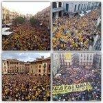 RT @gerardromero: Tarragona - Girona - Vic - Barcelona alguns exemples del que passa avui a Catalunya! El món ha de saber #9NVotarem http://t.co/qelWIOZRwr