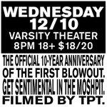 RT @VarsityTheater: Just Announced Day 5 of @DOOMTREE #LastBlowoutEver on 12/10 on sale Friday! @tpt filming! http://t.co/5W4nj4y6uy http://t.co/DwzZdWbNqk
