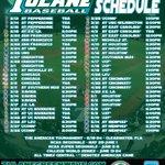 RT @GreenWaveNews: .@GreenWaveBSB #2015Schedule #Tulane #ROLLWAVE #allin http://t.co/NdMufxgjEG
