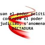 RT @Laksmiz: NO hay SEPARACIÓN de PODERES. NO es una DEMOCRACIA #MarcaEspaña #9N2014 #CatalansVote9N #Araeslhora9N http://t.co/kuxbRH07aN