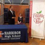 RT @JohnTerhuneJC: Harrison teacher Kathy Nimmer is Indiana Teacher of the Year. http://t.co/zYRo2zZqsi
