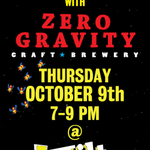 RT @zerogravitybeer: Excited to be teaming up with @tiltvt for this event next Thursday October 9th #vtbeer #btv http://t.co/KSurLQgL5U