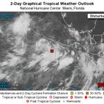 RT @spcver: En el Pacifico, #90E sigue organizándose muy cerca de #Gro. Presenta 60% de prob p/evolucionar a #CT @NoemiGuzmanSPC http://t.co/m0DyI0iYXs