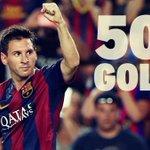 #UCL | El gol de Messi es el número 500 del Barcelona en Liga de Campeones (Foto: @FCBarcelona_es ) http://t.co/v8brGwqte6