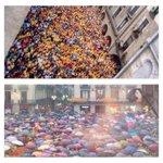 Hoy en cualquier pueblo de Catalunya. La decisión està tomada, y pronto estará dentro de una urna. Cc/ @marianorajoy http://t.co/ruXCX7Dlkj