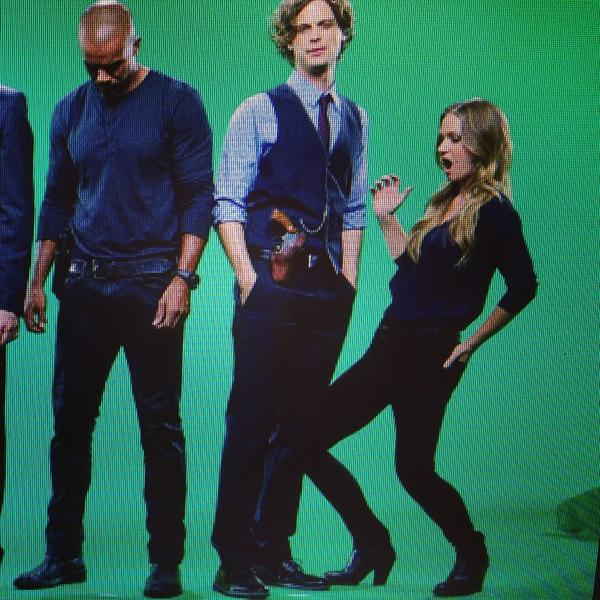 Caption competition!! @CrimMinds_CBS @shemarmoore @GUBLERNATION http://t.co/U23b158QDq