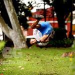 """#FotodelDía #Xalapa Joven practica el """"Parkour"""" en Los Berros @VialidadXalapa @ComSocialXalapa @xalapeando_ando http://t.co/kkqxXJOrjL"""