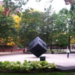RT @umichLSA: Colorful autumn leaves frame the Cube on this last day of September. #umich #uminstagram http://t.co/kgyam7B9Ea http://t.co/DJIlre5CKR