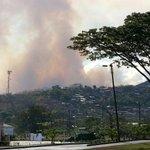 RT @donjaime1966: @elpaiscali #yoreporto incendio forestal en Yumbo,al frente del barrio la estacia,pone en riesgo estas casas http://t.co/Qy9pECN8I4