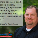 Why I'm an Education Voter: Meet FL teacher Thomas Faasse - http://t.co/r1UXel7QV3 http://t.co/T8fo4OnWvl