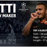 Quanto è grande sto Raccordo! #Totti #ChampionsLeague #ManchesterCityRoma #historymaker http://t.co/kW7LuKszCW