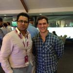 """""""@simonauteri: Giving some batting tips to the one and only...@cricketaakash http://t.co/6I3o6eNJAW"""" a decade too late, mate ;)"""