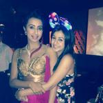 Sisters in arms! @nikkigalrani celebrates @actressanjjanaa birthday http://t.co/h9NJaMkSFO