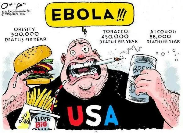 Excellent cartoon by The Sacramento Bee (9 Oct Issue). @sacbee_news - Perspective.  #EbolaOutbreak http://t.co/XOwPWvygdH