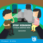 Hormati sesama pengguna angkutan umum, jgn merokok di dalam angkutan umum ya Taruwit #plisatuhlah http://t.co/4R8KXJ03HL
