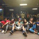 Gangsta squad! @Varun_dvn #ABCD2 ✌️ http://t.co/dpT39FzASt