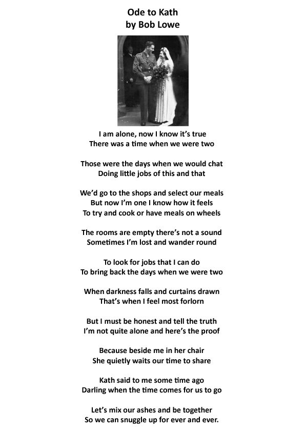 93-year-old Bob moved listeners to tears when he read this poem he wrote for his late wife:   http://t.co/snyAWkT2JF http://t.co/HBtwZgxl5H