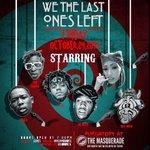 OCT 24 @ The Masquerade @6LACK @OGMaco @1RobOlu @ZeusTRAPPIN @QueenLosa #WeTheLastOnesLeft http://t.co/9y1r04qZmP !!!!