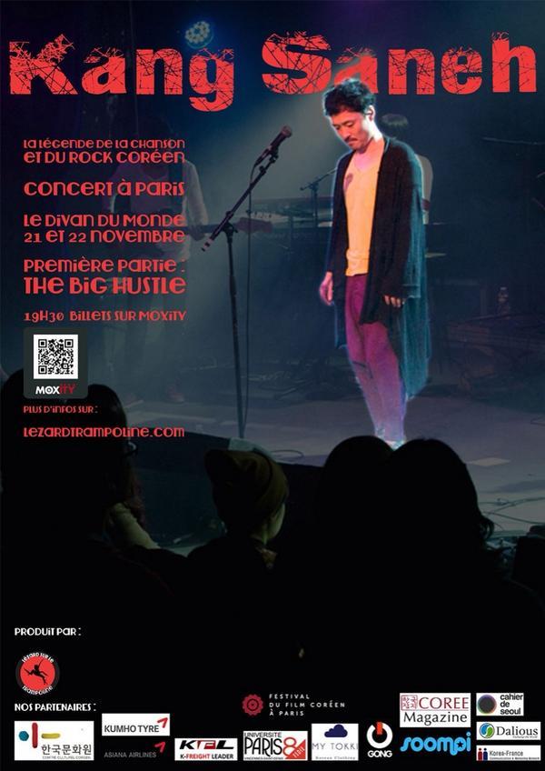 11 / 21, 22 LE DIVAN DU MONDE   in Paris 공연합니다 ~ http://t.co/0z1tLkpCUV