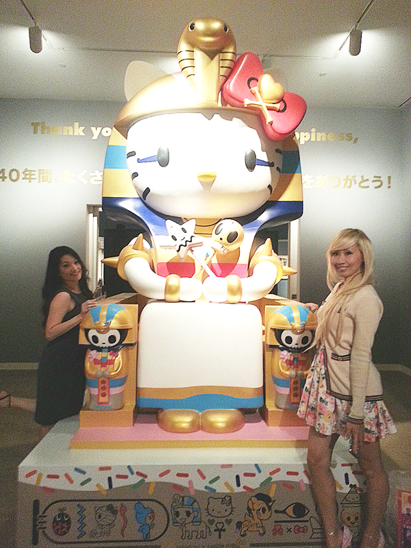 @HelloKitty exhibit at @jamuseum, this is the @tokidoki piece! Tons more photos here: http://t.co/jFAvgkPYUo http://t.co/6agOfGcBMo