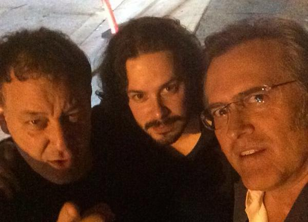 Edgar Wright, Sam Raimi and Bruce Campbell - http://t.co/1947r2aTcB #horror #horrornews http://t.co/uPoYVbSkur