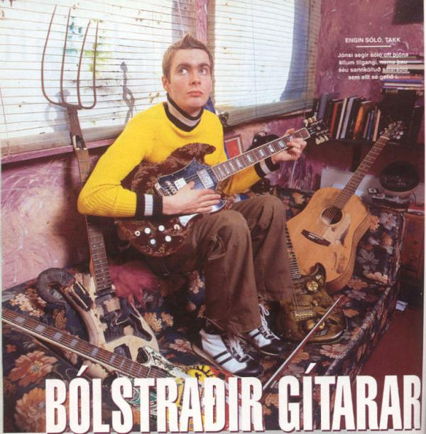 """""""guitar solos are usually entirely pointless. unless they are truly solos from the soul"""" mannlíf magazine 1998 http://t.co/8AEBggx1MG"""