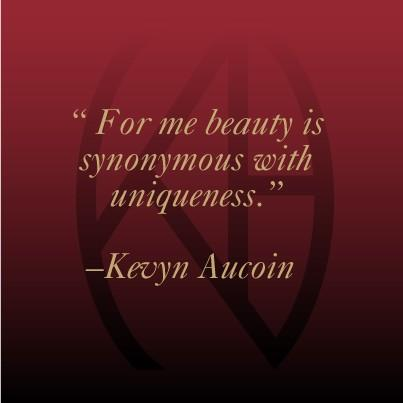 Continue to be yourself, and your unique beauty will continue to shine through!  #KevynAucoin #MotivationalMonday http://t.co/xOf6freCbO